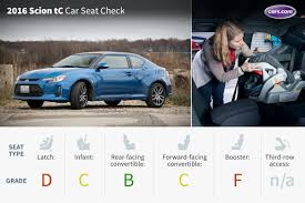 scion 2016 scion tc car seat check news cars com