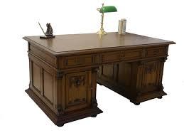 Schreibtisch Dunkelbraun Massiv Schreibtisch Antik Eiche Massiv U2013 Dekoration Bild Idee