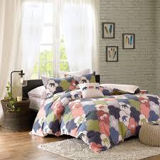 girls surf bedding modern elephant teen bedding full queen king comforter or