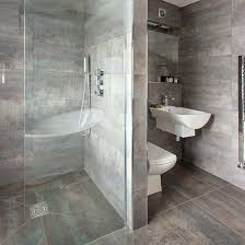 bathroom flooring ideas uk the 25 best grey large bathrooms ideas on grey shower