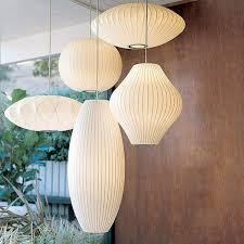 nelson pendants what size ge e nelson saucer pendant lamp for