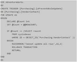 Delete All Rows From Table Prevent Accidental Update Or Delete Commands In A Sql Server Table