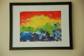 st patrick u0027s day art our first rainbows u2013 in lieu of preschool