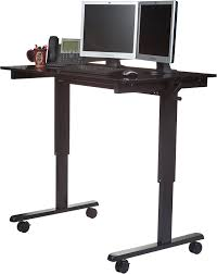 Adjustable Height Computer Desks by Amazon Com 48