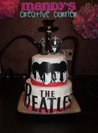 Beatles Birthday Cake Cakewalk Catering Beatle Cakes