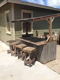 Garden Bar Table And Stools Best 25 Outdoor Bar Furniture Ideas On Pinterest Diy Outdoor