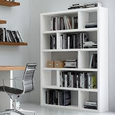 modern bookcases dublin tall white bookcase eurway