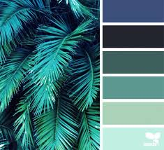 color frond fresh hues colors color pallets and pantone