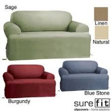sure fit slipcovers ultimate heavyweight stretch suede individual