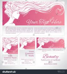 vector illustration beautiful silhouette long hair stock vector