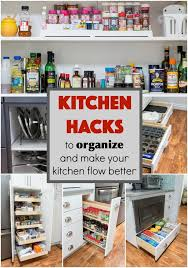 How To Organize Your Kitchen Pantry - kitchen hacks to organize and make your kitchen flow better