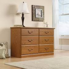 Sauder Nightstand Oak Sauder Orchard Hills Dresser Carolina Oak Walmart Com