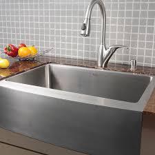 Kraus KHF  Inch Farmhouse Apron Single Bowl  Gauge - Kitchen sinks styles