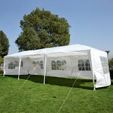 Canopy Tent Wedding by 10 U0027 X 30 U0027 Gazebo Canopy Party Wedding Tent W 5 Removable Window