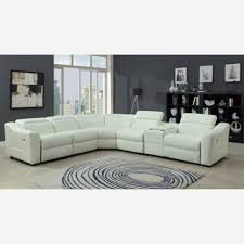Leather Trend Sofa Furniture Trend White Leather Reclining Sofa 44 With Additional