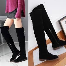 womens the knee boots size 11 size 12 thigh high boots tsaa heel