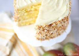 coconut mango cake your cup of cake