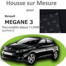 housse siege scenic 3 premium pour megane 3 bancarel housses