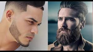 top 7 coolest men u0027s hairstyles with beards 2017 youtube