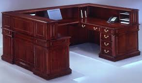 Office Furniture Stores In Houston by Keswick U Shaped Reception Desk W Right Bridge