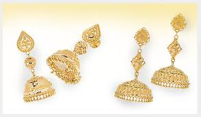 gold earrings jhumka design the jewelry edit evolution of the jhumka design