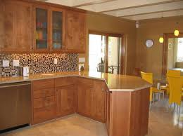Kitchen Wall Cabinets With Glass Doors Kitchen Cabinet Spacious Country Oak Kitchen Cabinet With 2