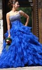 robe de mari e bleue location de robes location de robe de mariee soiree