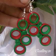 quilling earrings set fashionable quilling earring set quilling earrings designs earrings