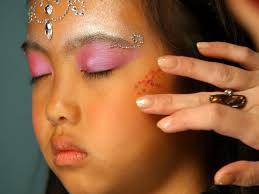 pirate halloween makeup ideas kid u0027s halloween makeup tutorial fairy princess hgtv