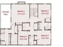 52 unique 4 bedroom house plans unique 4 bedroom house design