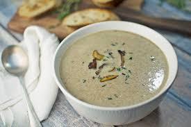 wild and skinny mushroom soup little figgy food
