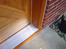 new install prehung exterior door home interior design simple
