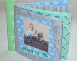 Cloth Photo Album Cuddle Book U0027pinks U0027 Personalised Cloth Fabric Baby