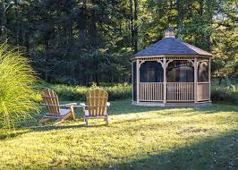 cottage style backyards the beaverbrook cottage is a charming quonset hut retreat in the