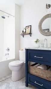 White Bathroom Vanity Ideas Beach Bathroom Decor Blue Cabinets Blue Vanity And Center Stage