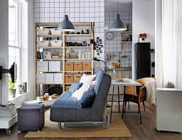 Functional Bedroom Furniture Living Room Cozy Small Modern Studio Apartment Functional Open
