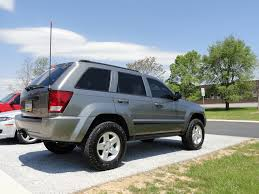 silver jeep grand cherokee 2007 wk xk wheel tire picture combination thread jeepforum com