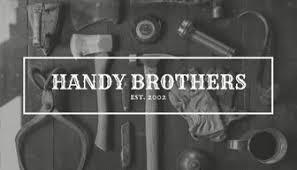 handyman business card templates canva