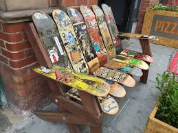Snowboard Bench Legs Awesome Skateboard Design Ideas Gallery Decorating Interior