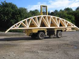 Prefabricated Roof Trusses Curved Wood Roof Trusses Google Search Hobbit Hole Pinterest