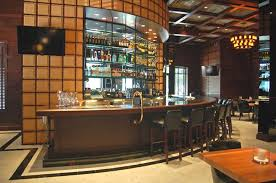 bar hospitality interior design of iii forks steakhouse and