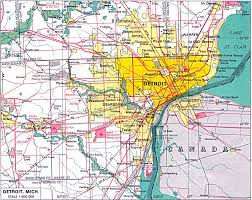 Map Of Michigan Lakes Detrioit B A Hottie Pinterest Detroit Lakes And City