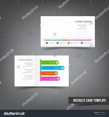 clear buisness cards business card template set 032 clear stock vector 290308313