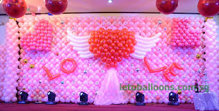 free wedding decoration ideas with balloon decoration
