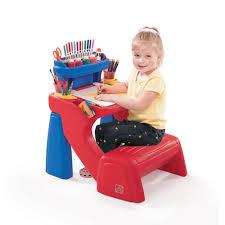 Step2 Deluxe Art Desk With Splat Mat Best Child Art Desk Best Home Furniture Decoration