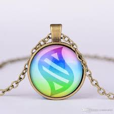 glass stone necklace images Hot mega stone necklace jewelry glass heart round pendant charm jpg