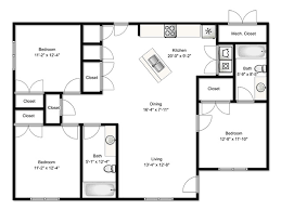 3 bedroom floor plans floor plan 3 bedroom flat home shape