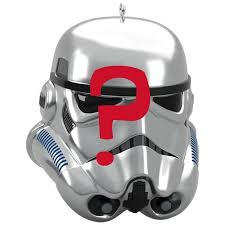 wars imperial stormtrooper mystery box ornament