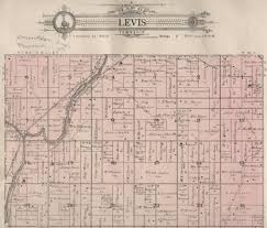 Washington Township Map In Eau by Indians Of Clark County Wisconsin 1