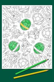 new tmnt coloring book from random house hits the market